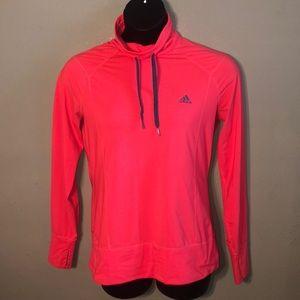 Adidas cowl neck sweatshirt.  Girl's size large.